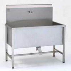 Delightful Industrial Stainless Steel Sink