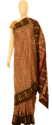 Tribal Folk Dance Printed Saree