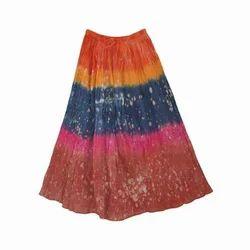 Multicolor Long Skirt