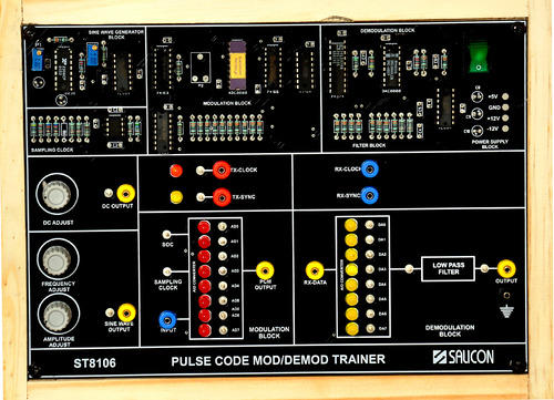 Ask Modulation & Demodulation Trainer St8108