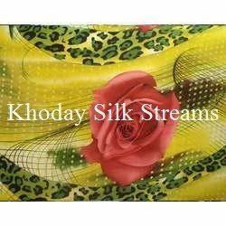 Custom Printed Silk Fabric