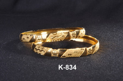 Fashion Gold Plated Bangles
