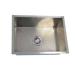 SS Rectangle Kitchen Sink