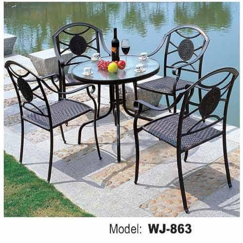 Wrought Iron Chair र ट आयरन च यर Outdoor Hub Mumbai
