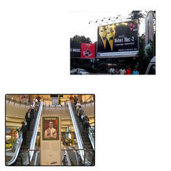 Advertising Boards for Shopping Mall