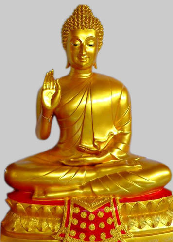 golden buddha statues buddhas art world manufacturer in andheri