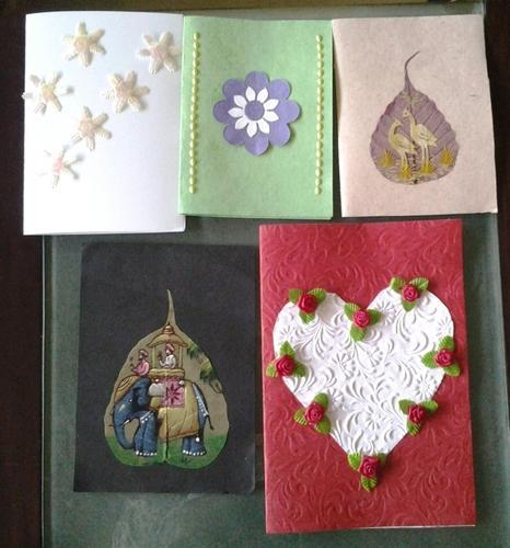 Handmade Greeting Cards Handmade Paper Products Chandkheda