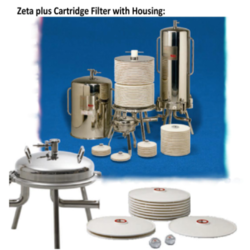 Zeta Plus Cartridge Filter with Housing