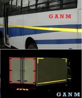 Reflective Traffic Safety Products Vehicle Marking Retro