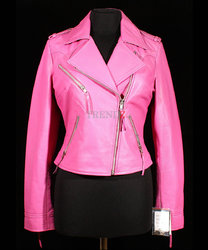 Pink Leather Jacket Kids - My Jacket