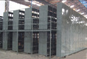 Two Multi Tier Slotted Angle Racking
