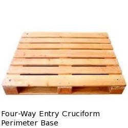 Four Way Entry Cruciform Perimeter Base
