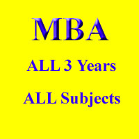 MBA Courses