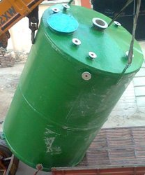 FRP Tank with Agitator