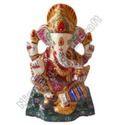 Metal Ganesha Statues With Choki