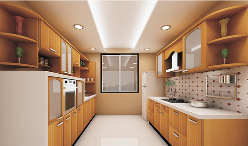 Modular Kitchen Showroom Designing Manufacturer From Vapi