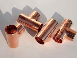 Copper Tee, Size: 10 - 133 mm