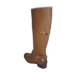 Ladies Brown Leather Boot