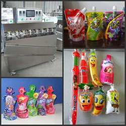 Liquid Juice Bag Filling And Sealing Packing Machine
