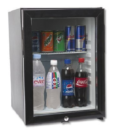 Glass Door Mini Bar Refrigerator Alsha Hotel Supplies