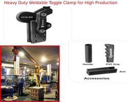 Heavy Duty Weldable Toggle Clamp for High Production