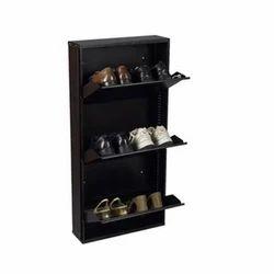 Black One Step Furniture Shoe Racks