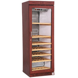 wine cooler cabinets with wooden cladding