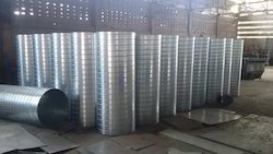 Galvanized Steel Spiral Ducting, For Industrial And Commercial