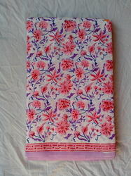 Designer Print Cotton Bed Cover Fabric