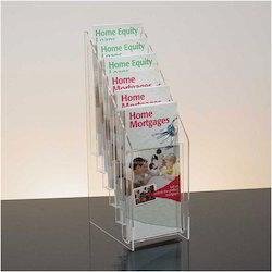 6 Pocket Acrylic Leaflet Holder