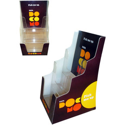 Branded Step Brochure Holder