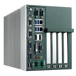 Embeded Fanless PC with 4 PCI Slots