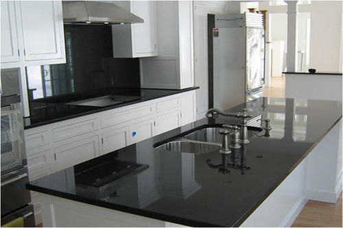 Black Granite Kitchen At Rs 450 Square Feet Granite