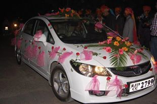 Natural flowers decoration car decoration service provider from car decoration junglespirit Image collections