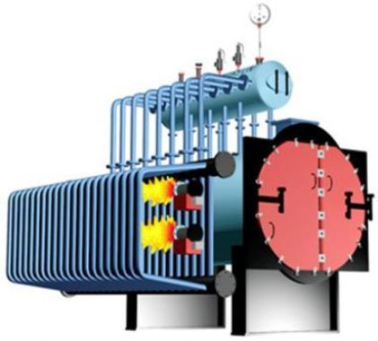 Power Generation High Pressure Oil - Gas Fired Boiler - Industrial ...