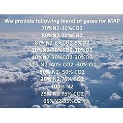 Modified Atmosphere Gases