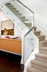 Modern Glass Handrail