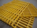 Pultruded Glass Reinforced Plastic Grating