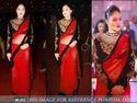 Bollywood Red Colour Designer Saree