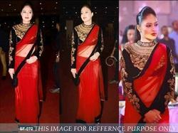 Bollywood Red Colour Designer Saree