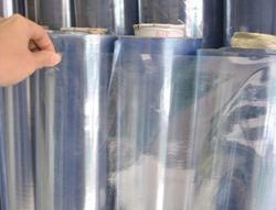 Rubberized PVC Glass Clear Rolls