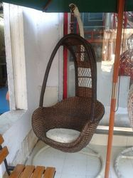 Wooden Swing Chair