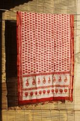 Indian Block Printed Dupatta