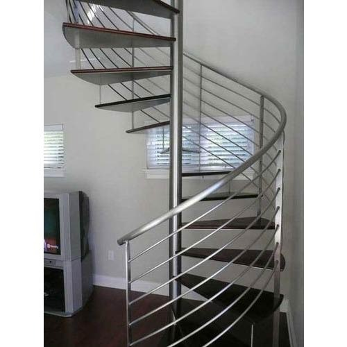 Stainless Steel Spiral Staircase At Rs 220 Square Meter
