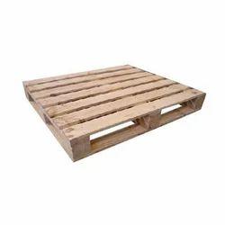 2 Way Hardwood Wood Pallet
