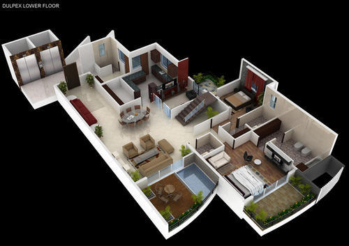 Heaven 5 Bhk Duplex, Sky Vila in Agrwaal Pablik School Bicholi ...