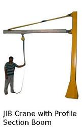 Jib Crane with Profile Section