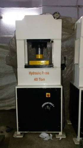 H Type Hydraulic Press Machine - Gold and Silver Coin Making