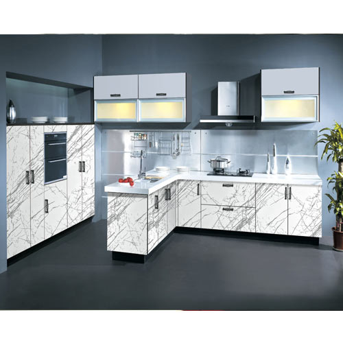 Kutchina Modular Kitchen Price At Rs 75000 Number: Modern Acrylic Kitchen Cabinet At Rs 75000 /piece