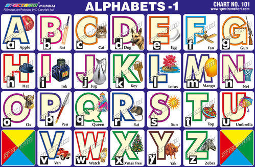 Educational Sticker Charts - Reptiles Chart Manufacturer from Mumbai